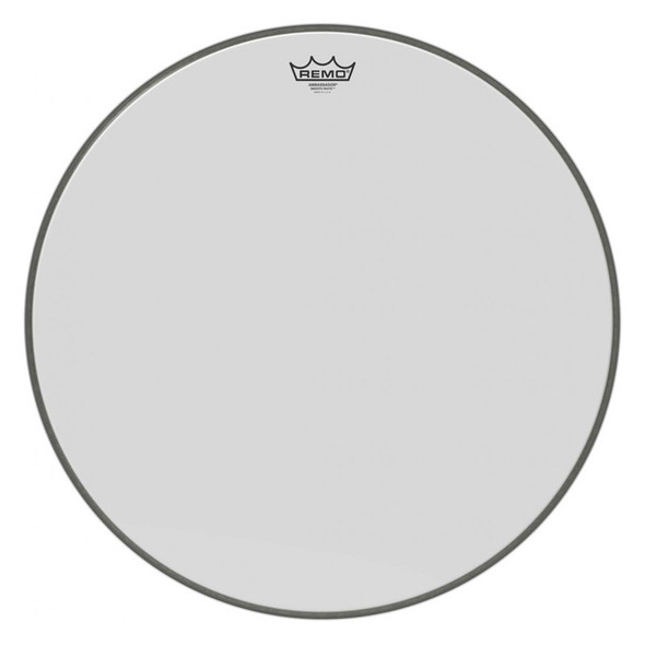 Remo BR-1222-00 Ambassador Smooth White 22 Inch Bass Drum Head