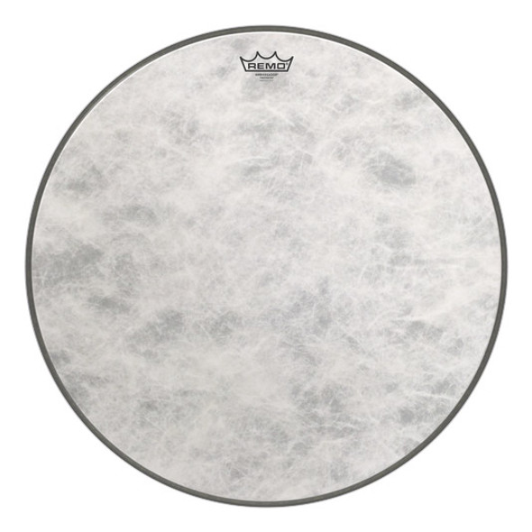 Remo FA-1522-00 Fiberskyn 22 Inch Ambassador Bass Drum Head