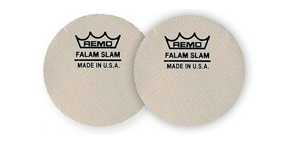 Remo KS-0002-PH Single Falam Slam 2.5 Inch Bass Drum Patch