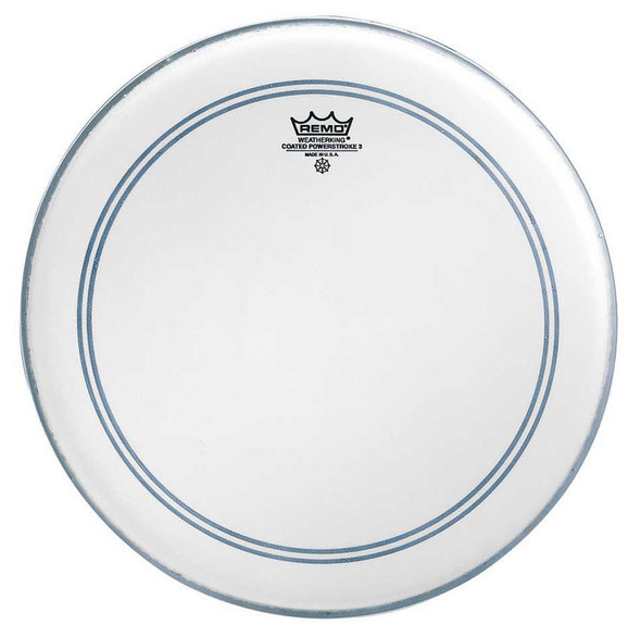 Remo P3-0114-BP Powerstroke 3 Coated 14 Inch Drum Head