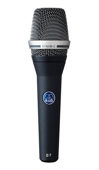 AKG D 7 Handheld Dynamic Microphone, Supercardioid