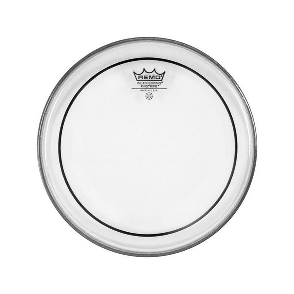 Remo PS-0308-00 Pinstripe 8 Inch Clear Drum Head