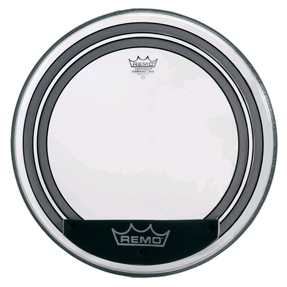 Remo PW-1320-00 Powersonic 20 Inch Clear Bass Drum Head