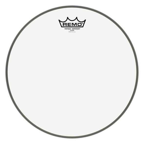 Remo VE-0312-00 Emperor Vintage Clear 12-inch Drum Head