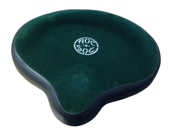Roc n Soc Drum Throne Saddle Top, Green