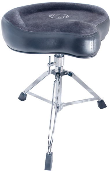 Roc n Soc Saddle Drum Throne Complete - Grey