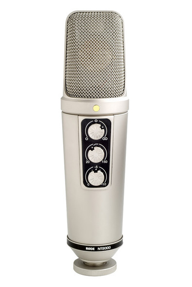 Rode NT2000 condenser microphone (includes case & suspension)