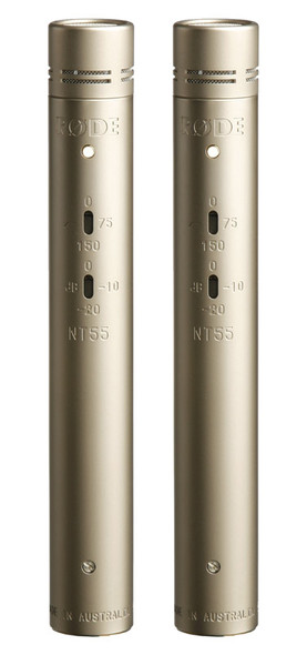 Rode NT55 Pencil Condenser Microphones (Matched Pair)