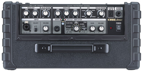 Roland Cube Street Battery Powered Stereo Amp, Black