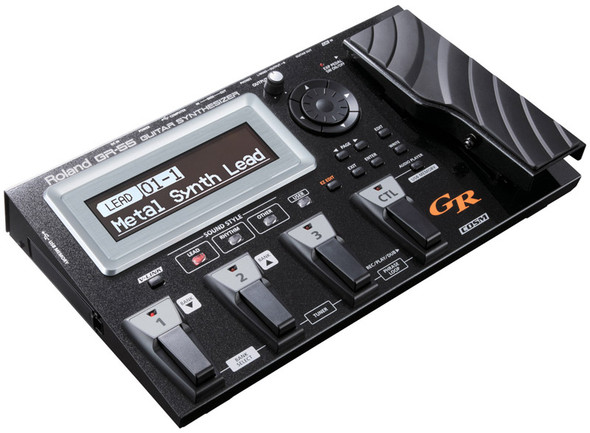 Roland GR-55S-BK Guitar Synth, Black (pickup not included)