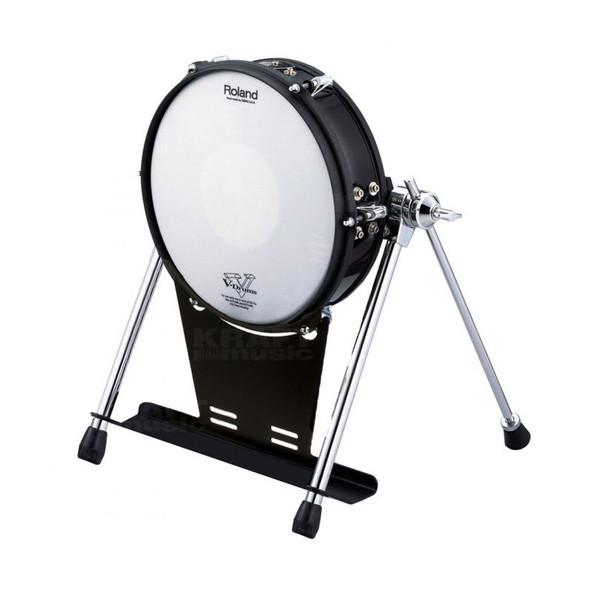 Roland KD-120BK 12 inch Mesh-head Kick Drum Trigger, Black