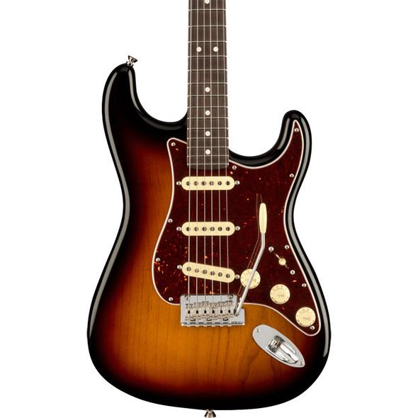 Fender American Professional II Stratocaster, Rosewood, 3 Tone Sunburst