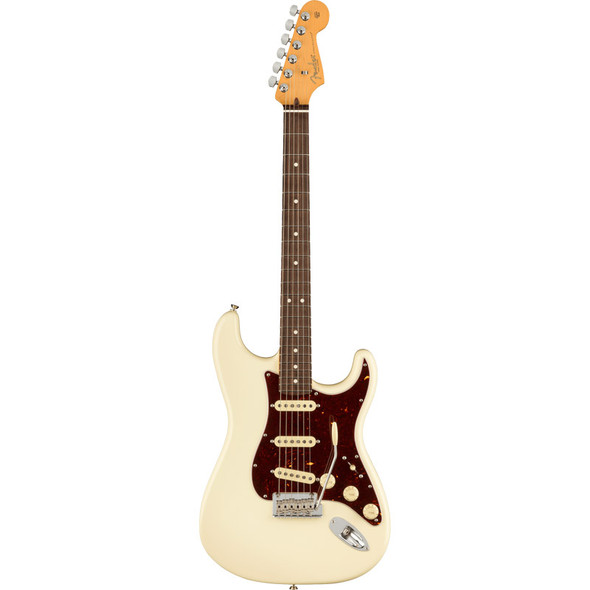 Fender American Professional II Stratocaster, Rosewood, Olympic White