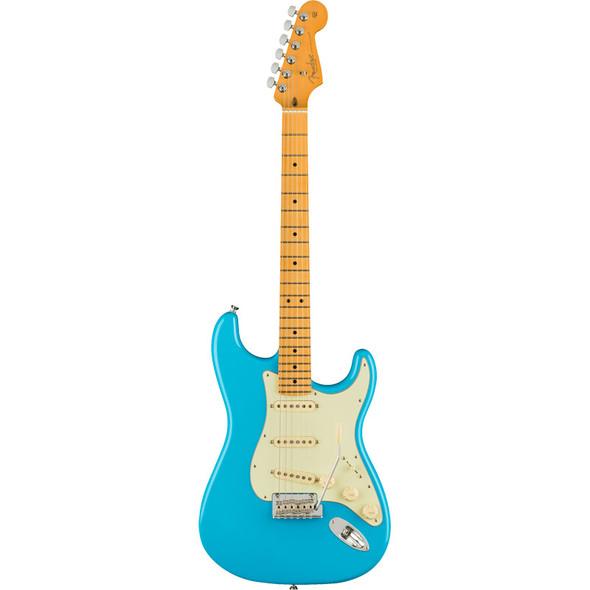 Fender American Professional II Stratocaster, Maple Neck, Miami Blue