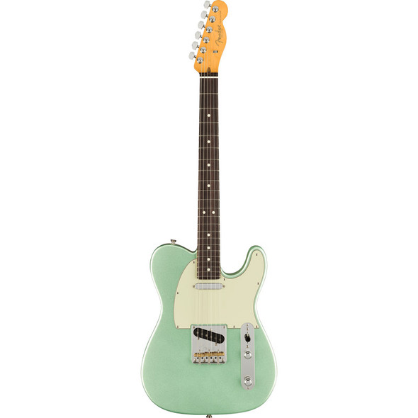 Fender American Professional II Telecaster, Rosewood, Mystic Surf Green