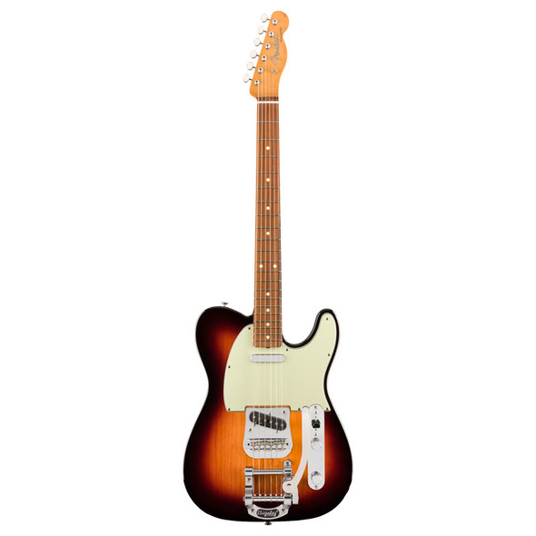 Fender Vintera 60s Telecaster Bigsby, 3 Tone Sunburst, Pau Ferro