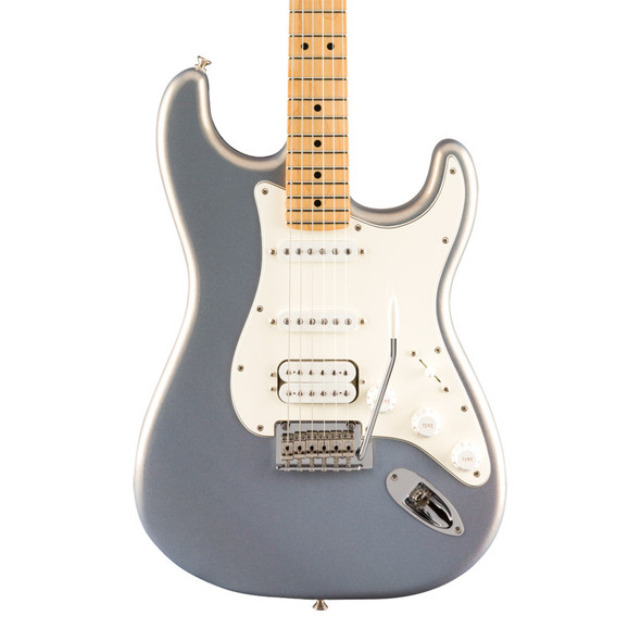 Fender Player Stratocaster HSS, Silver, Maple