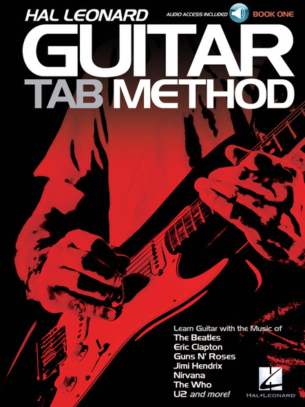 Hal Leonard Guitar Tab Method - Book One 1 BK/CD