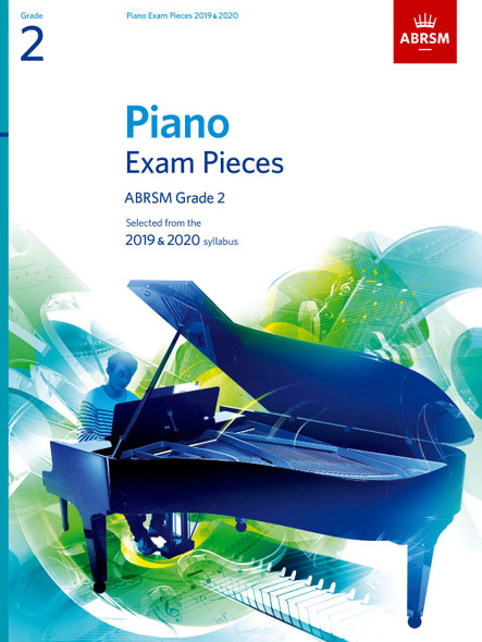 ABRSM: Piano Exam Pieces 2019-2020 GR 2 PF BK