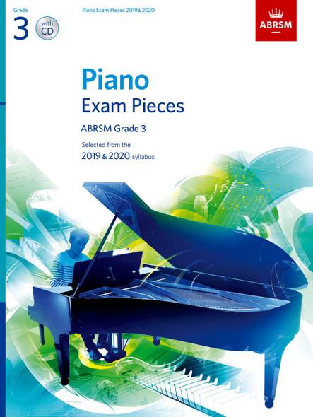 ABRSM: Piano Exam Pieces 2019-2020 GR3 PF BK/CD