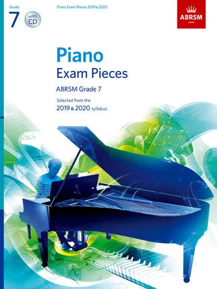 ABRSM: Piano Exam Pieces 2019-2020 GR7 PF BK/CD