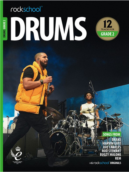 Rockschool: Drums Grade 2 2018 (Book/Audio)