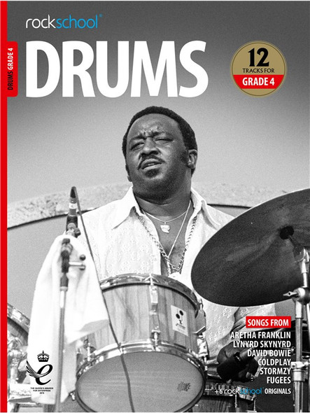 Rockschool: Drums Grade 4 2018 (Book/Audio)