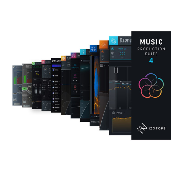 iZotope Music Production Suite 4 (Download)