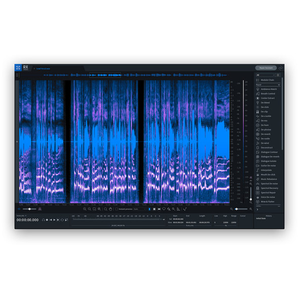 Izotope RX 8 Advanced Upgrade From RX Post Production Suite 1-3 Or RX 1-7 Advanced