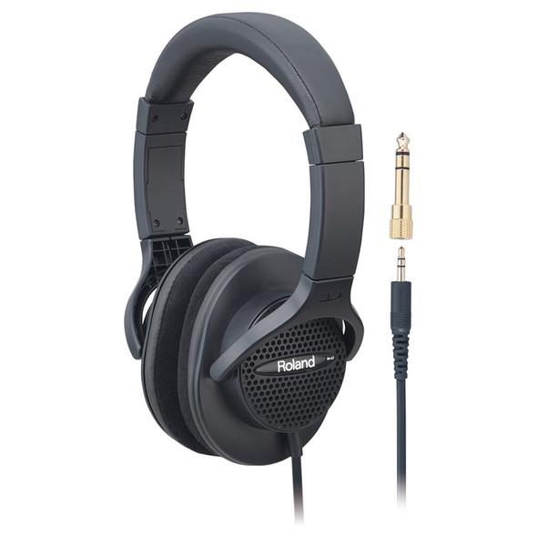Roland RH-A7BK Open Back Headphones, Black
