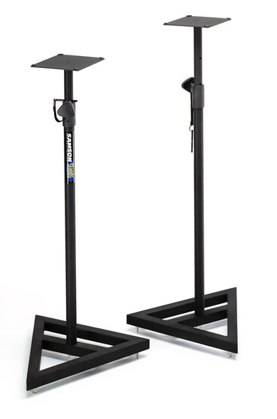Samson MS200 heavy duty telescopic studio monitor stands (pair)