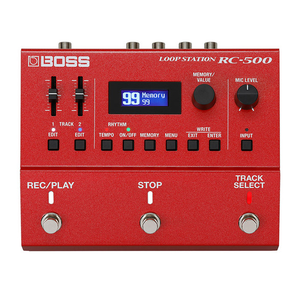 Boss RC-500 Dual Track Guitar Effects Looper Pedal