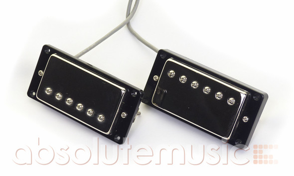 Epiphone Alcino Classic Pro Humbucker Set with Mounting Rings, Nickel Covers (Pre-Owned)