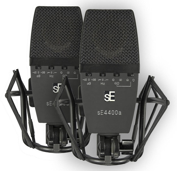 SE Electronics SE4400AST Multipattern Condenser Microphones (matched pair)