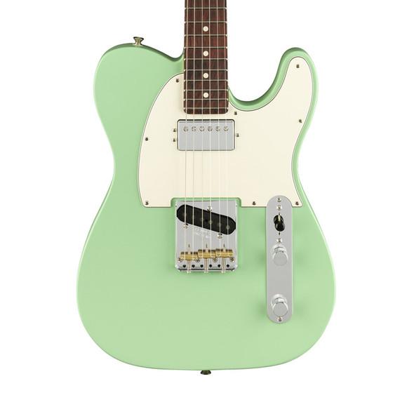 Fender American Performer Telecaster Electric Guitar w/Humbucking, Satin Surf Green, Rosewood