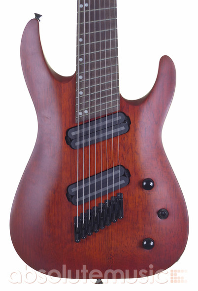 Jackson X Dinky Arch Top DKAF8 MS, 8 String Electric Guitar, Stained Mahogany (Pre-Owned)