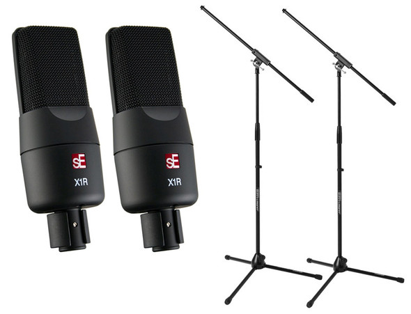 SE Electronics sE X1R Ribbon Microphone Pair Bundle