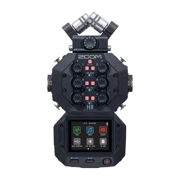 Zoom H8 Handy Recorder Portable Multi-Track Recorder