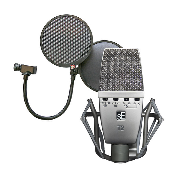 SE Electronics T2 Microphone with FREE Pro Popshield