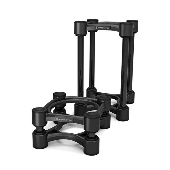 IsoAcoustics ISO-130 Desktop Monitor Stands (Pair)  (Ex-Display)
