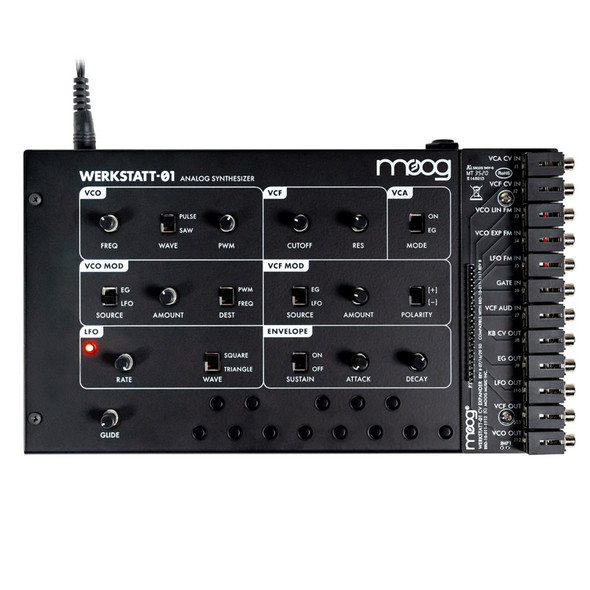 Moog Werkstatt-01 Analogue Synth with CV Expander