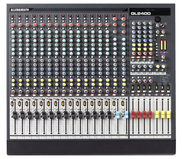 Allen & Heath GL2400 mixer - 16 channel mixing console