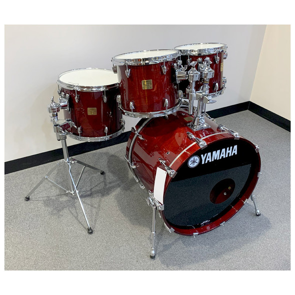 Yamaha Birch Custom Absolute Shell Pack in Cherry Wood (Pre-Owned)