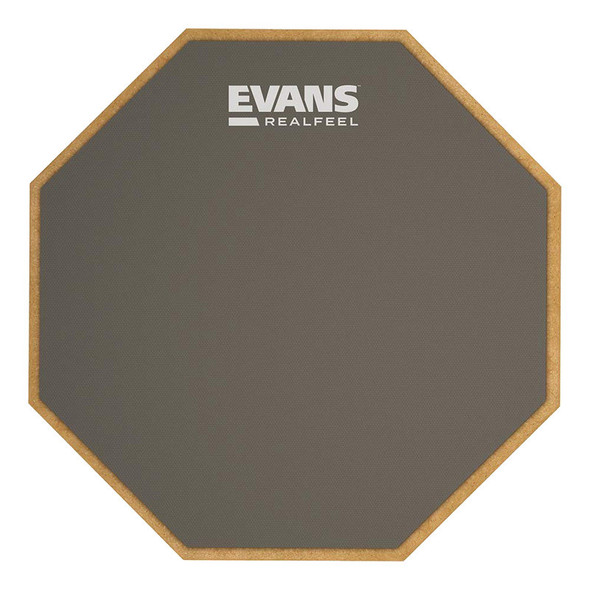 Evans RF6GM 6 Inch RealFeel Single Sided Standard Practice Pad