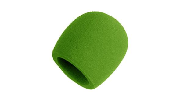 Shure A58WS foam windscreen (SM58, etc) GREEN