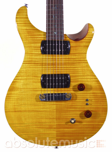 PRS SE Paul's Guitar, Amber with Tobacco Back