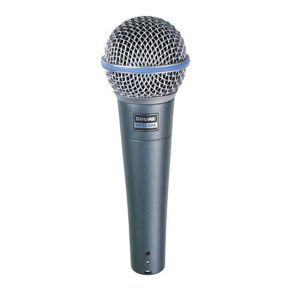 Shure Beta58A handheld vocal dynamic mic