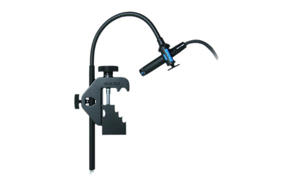 Shure Beta98DS miniature instrument mic with drum clamp (Supercardioid)