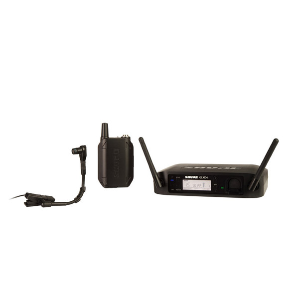 Shure GLXD14UK/B98 Digital Wireless Instrument System with Beta 98H/C