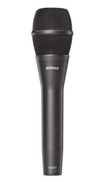 Shure KSM9 Handheld Vocal Condenser Microphone, Black